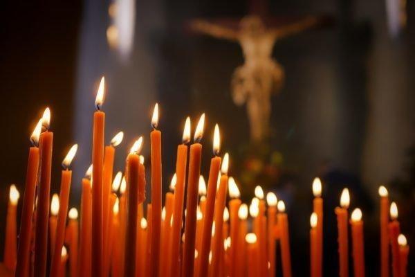 Молитва на сечи и иконы
