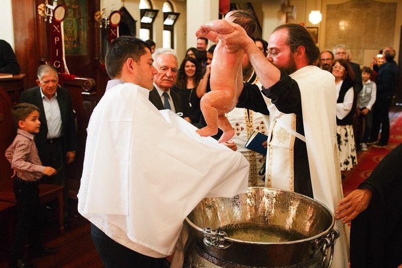 крещение молитва