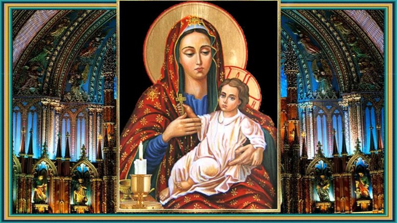 Как правильно молиться Деве Марии