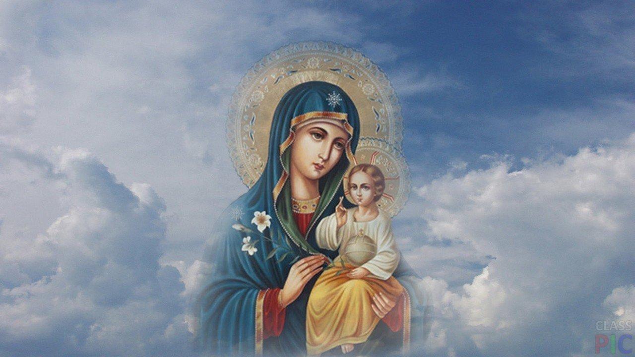 Молитва богородице дева мария радуйся полностью