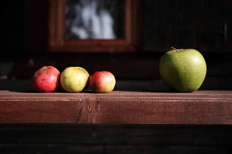 Заговор на любовь на яблоко