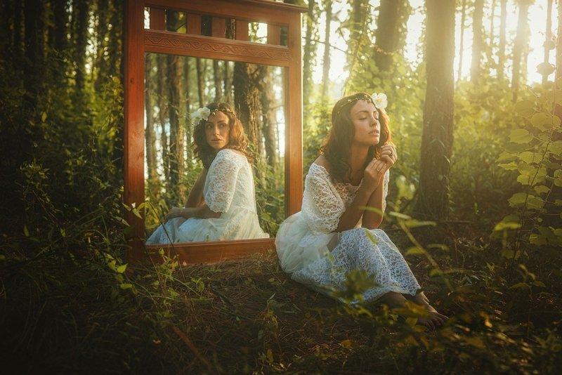 Молитва у зеркала