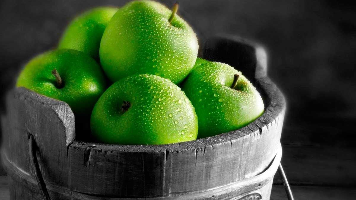 Приворот на зелёном яблоке