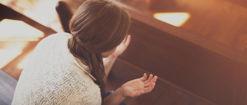 вера молитва символ