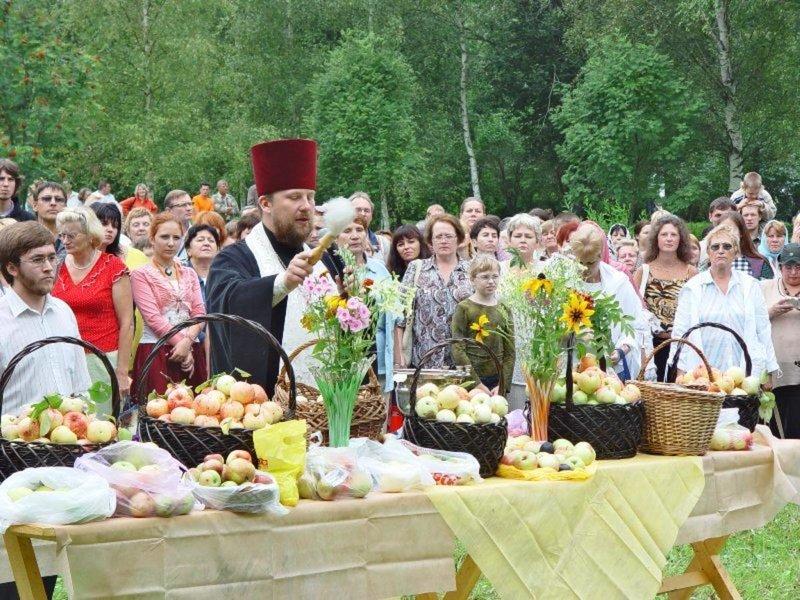Заговоры и молитвы на яблочный спас