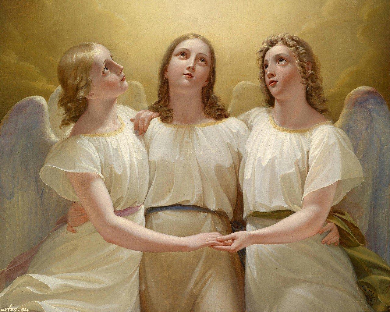 """Молитва от всех бед """"Три Ангела"""""""