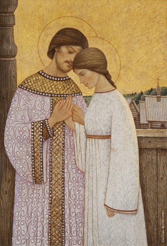 История святых Петра и Февронии