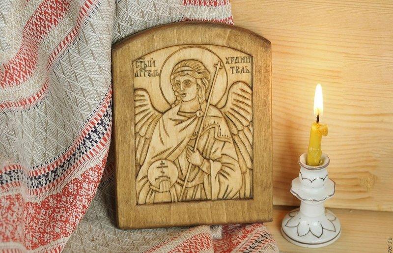 Дорожная икона Ангела Хранителя
