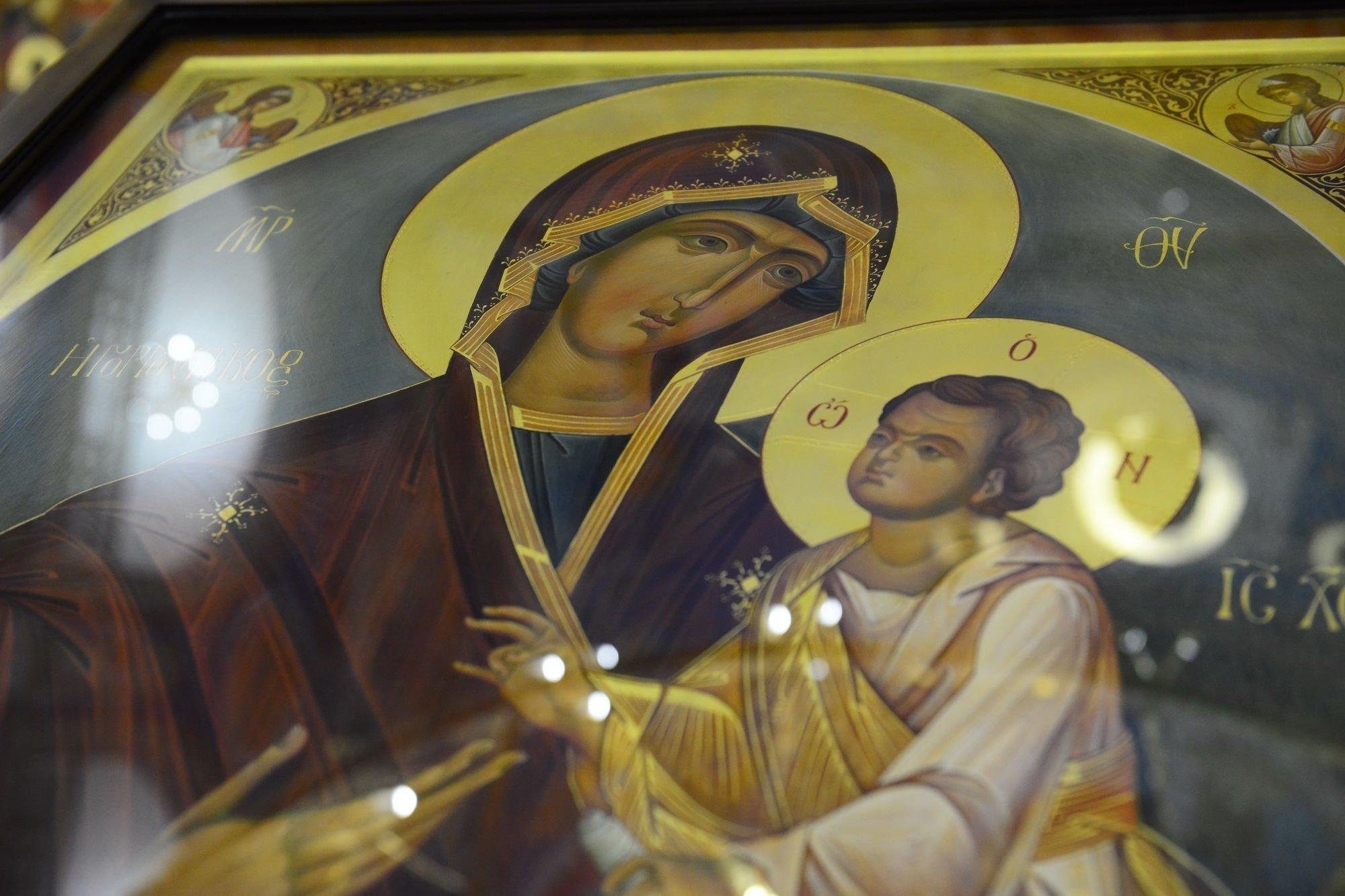 Молитва Скоропослушнице при молитвах и родах