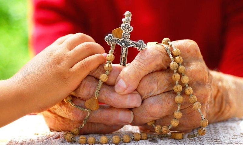 Молитва Господу Богу на крестик