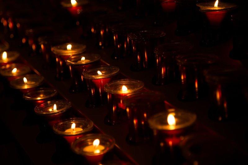 Свечи для заупокойной