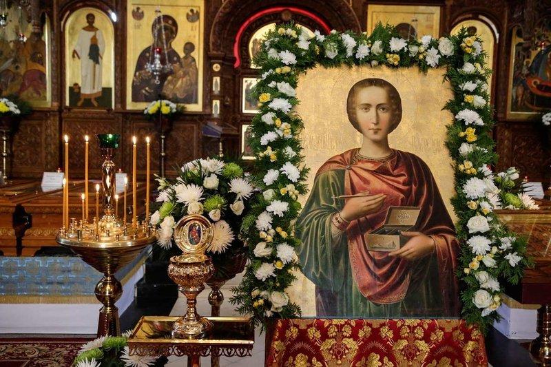 Молебствие Святому Пантелеймону
