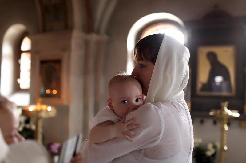 Молитва крестной матери за крестника при крещении
