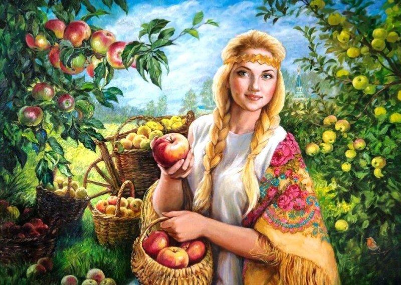 Обряд на праздник урожая