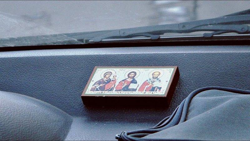 Какие иконы размещать в машине