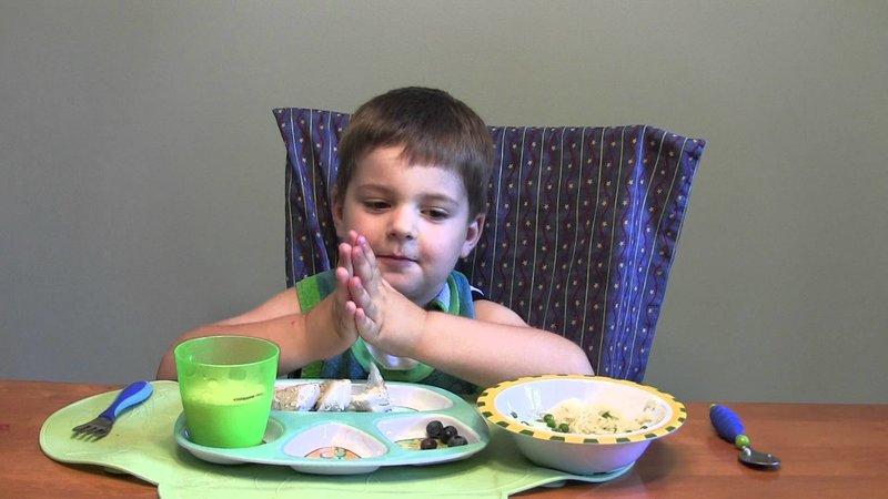 Молитва перед едой православная