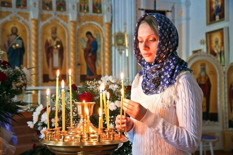 Молебствие перед иконой Божьей Матери