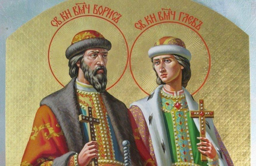 Молитва Глебу и Борису от вражды