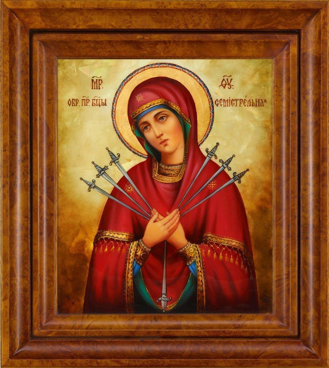 Молитва о здравии на икону семистрельная