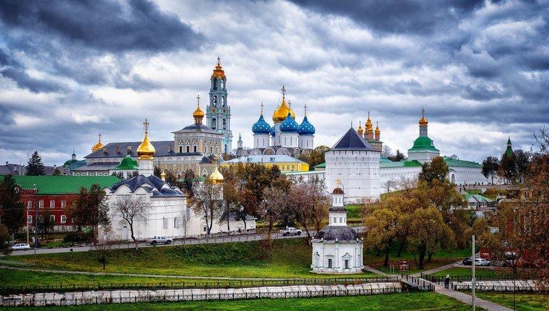 Молитвы в Троице-Сергиевой Лавре