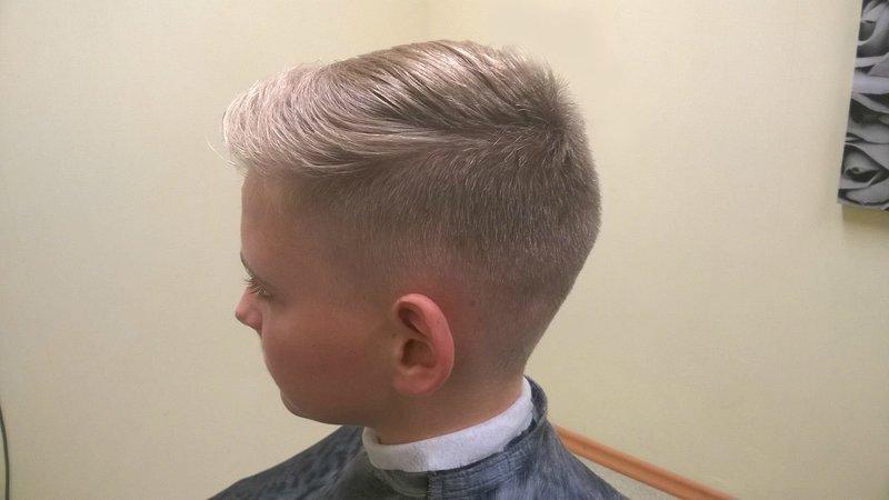 Стрижка для мальчика от 7 до 10 лет