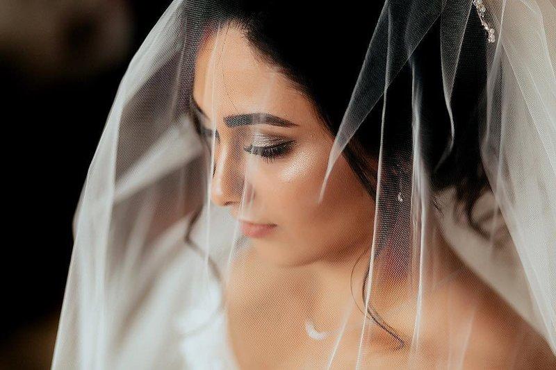 Красивый мейкап на свадьбу для азиаток