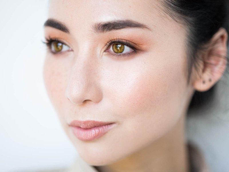 Ежедневный макияж для азиатского типа лица