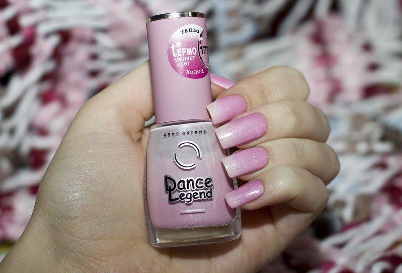 Бело-розовый термолак