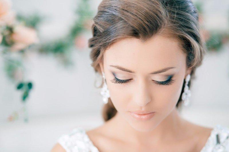 Свадебный мейкап для зелёных глаз