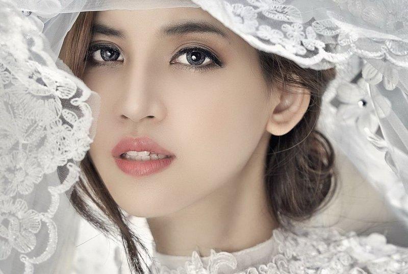 Волшебный свадебный макияж для азиаток