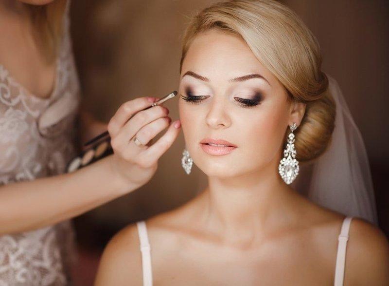 Красивый макияж для невесты