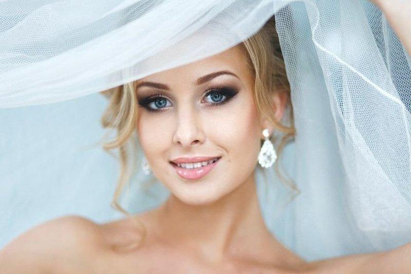 Свадебный смоки айс для блондинок