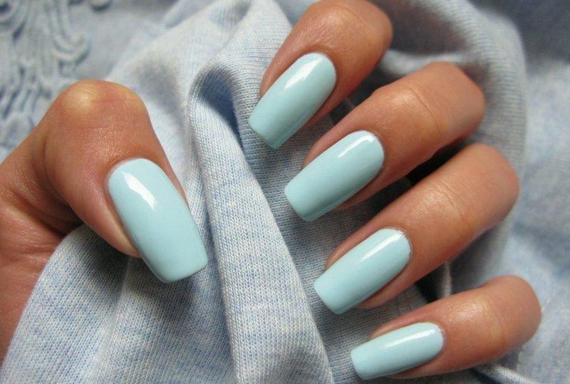 Голубые ноготки