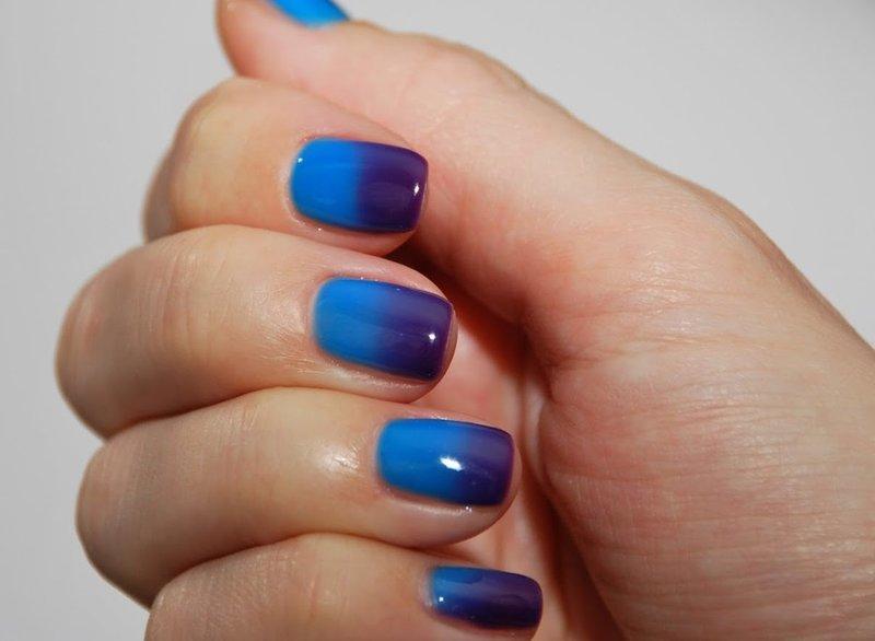 Сине-фиолетовый термолак