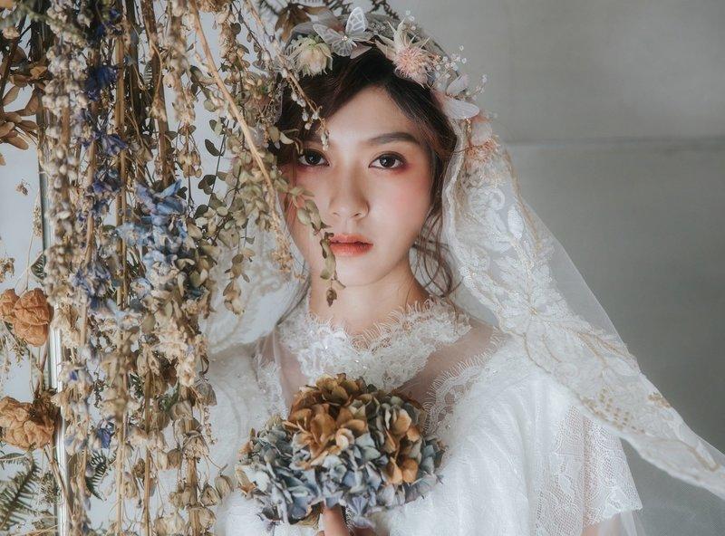 Нюдовый макияж на свадьбу для азиаток