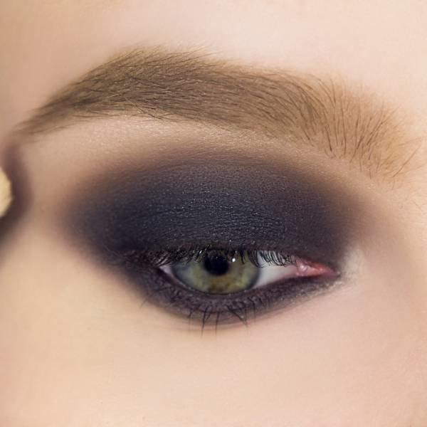 Фиолетово-чёрный смоки айс