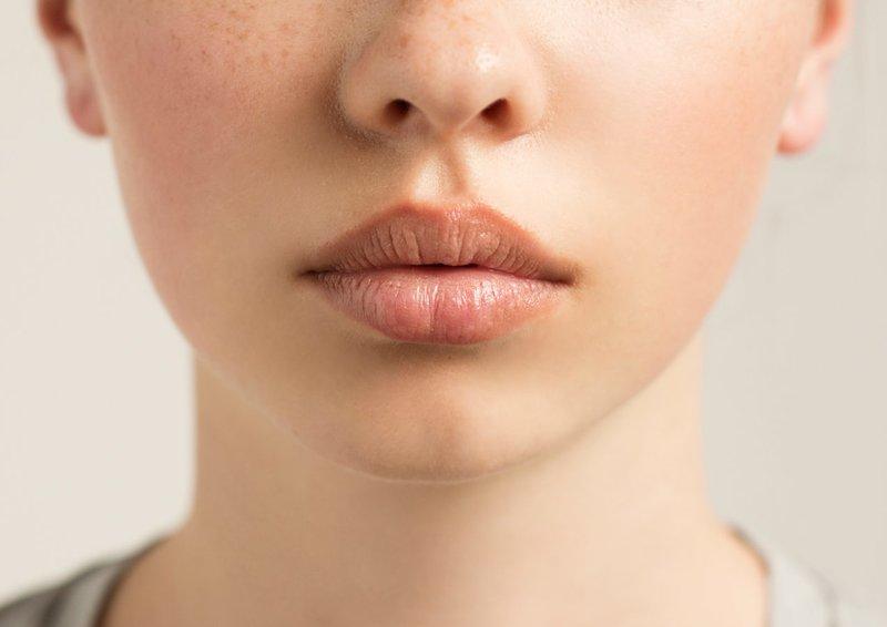 Губы при натуральном макияже