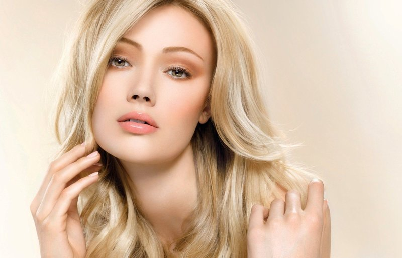 Красивый блонд без желтизны