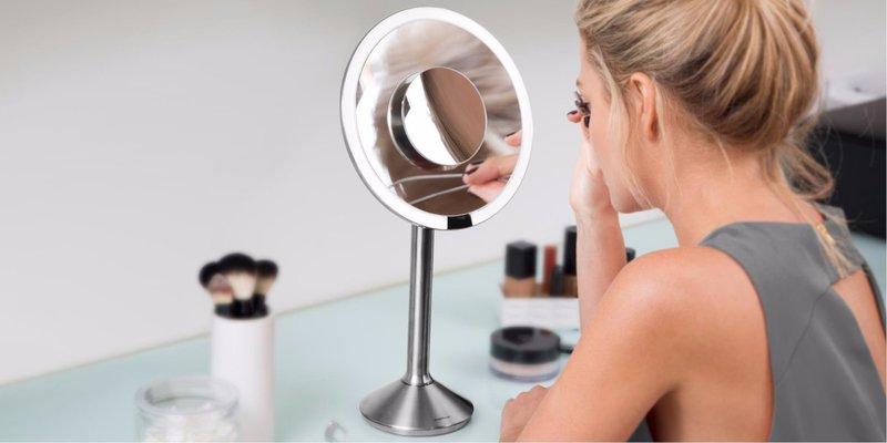 Зеркальное изделие с двусторонним отражением