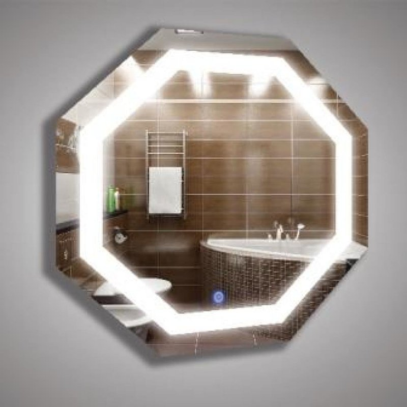 Зеркало с декоративной подсветкой