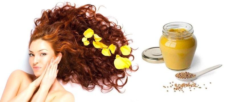 Маска из горчицы от выпадения волос