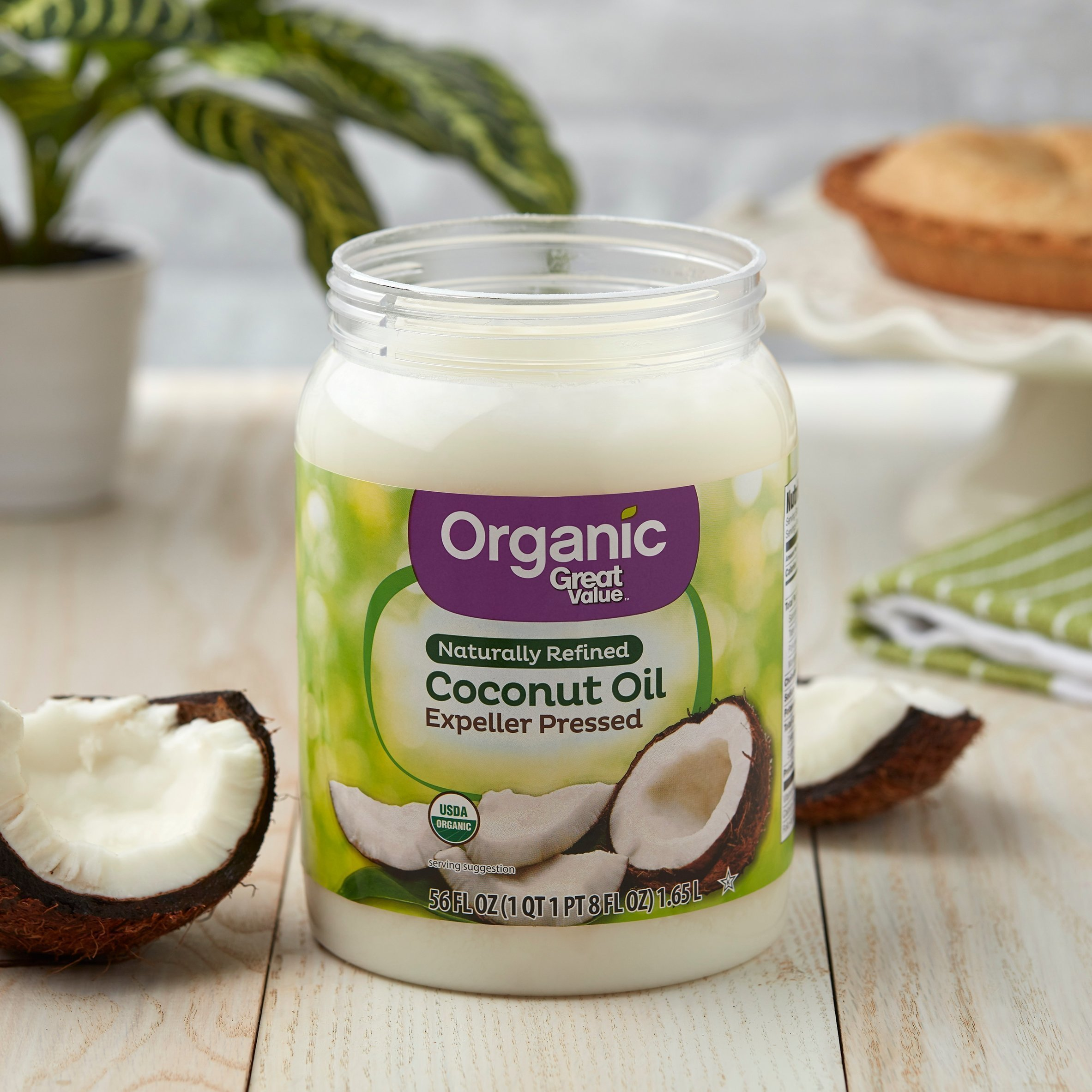 Рафинированное масло кокоса