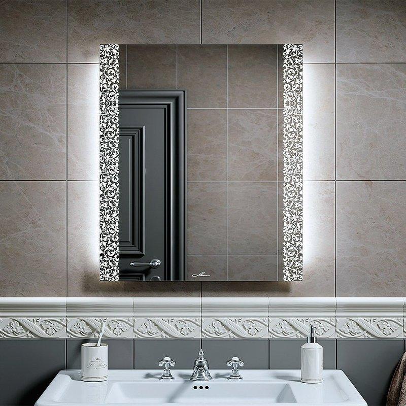 Зеркало с наружной подсветкой