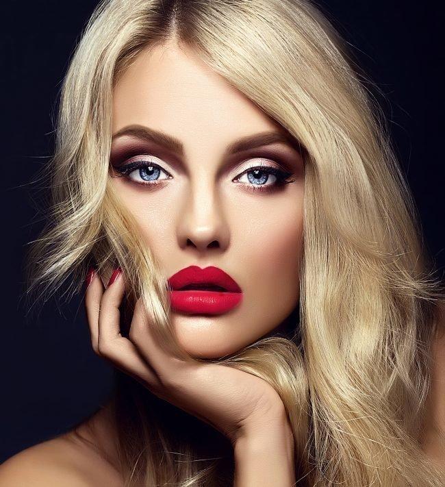 Make - up для блондинки