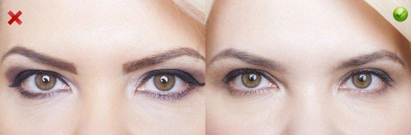 Ошибки естественного макияжа