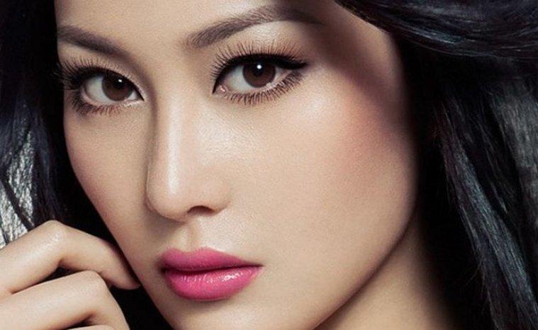 Азиатская внешность: узкая форма глаз