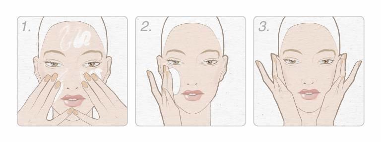 Использование молочка для снятия макияжа