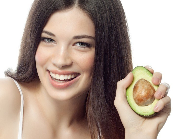 Маска из авокадо для волос