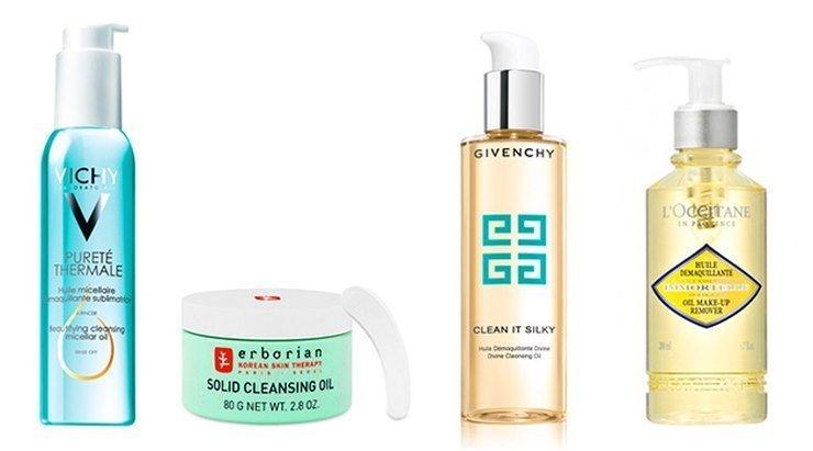 Для очищения лица используется гидрофильное масло