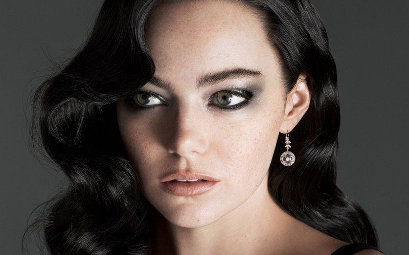 Эмма Стоун: макияж